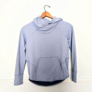 Lululemon time out light blue hoodie EUC size 4